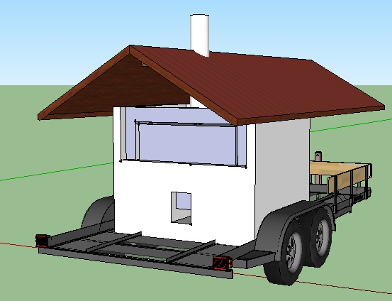 Rocket Stove Plans : Rocket+Stove+Oven+Plans Rocket Oven on a Trailer with a roof